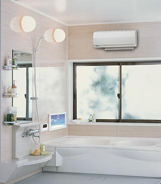 壁掛型/温水式浴室暖房乾燥機|Rinnai