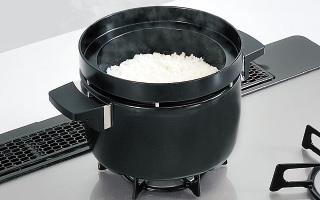 "[new] ガス炊飯器""直火匠""で培った炊飯制御旨みを引き出すごはん (もちもち) モード"
